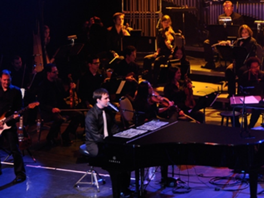 "New Jersey Symphony Orchestra will perform Elton John and other classic rock songs with Broadway's ""Movin' Out"" star Michael Cavanaugh on Nov. 12 at New Jersey Performing Arts Center, Newark, and Nov. 13 at The State Theatre, New Brunswick."