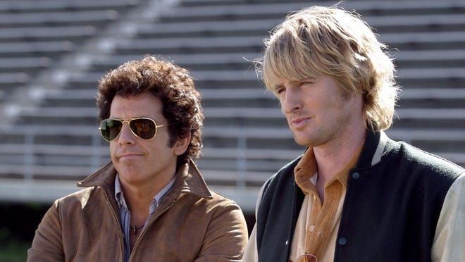 "BEN STILLER and OWEN WILSON in Warner Bros. Pictures' ""Starsky & Hutch."" PHOTOGRAPHS TO BE USED SOLELY FOR ADVERTISING, PROMOTION, PUBLICITY OR REVIEWS OF THIS SPECIFIC MOTION PICTURE AND TO REMAIN THE PROPERTY OF THE STUDIO. NOT FOR SALE OR REDISTRIBUTION"