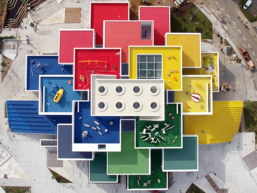 Airbnb has an apartment built out of LEGOs.