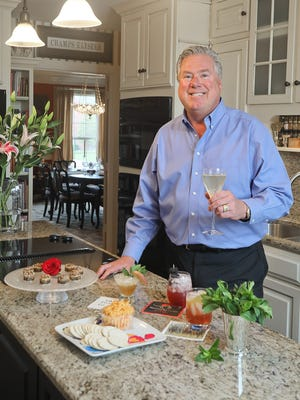Tim Laird, Brown-Forman's Chief Entertaining Officer, at his home in Louisville, KY. Mar. 27, 2018