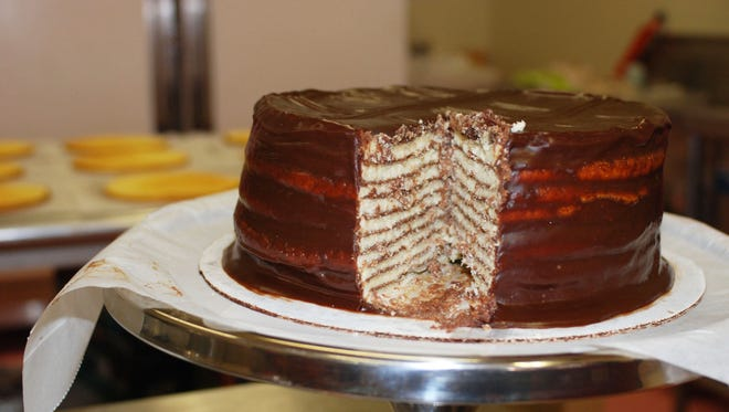 Enjoy Smith Island Cake during the island's arts festival on May 26.