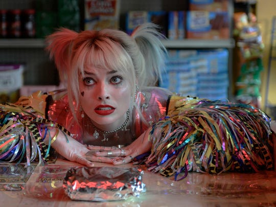 "Margot Robbie reprises her ""Suicide Squad"" character, who adores egg sandwiches and chaos, in ""Birds of Prey."""
