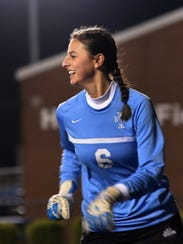 Loyola keeper Mary Kathryn Smith has allowed just one goal so far this season in 14 games.