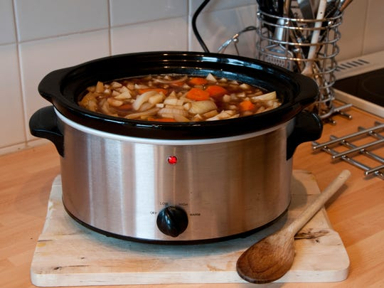 One suggestion: Leave everything in a slow cooker's pot in the refrigerator so someone can pull it out and get it going.
