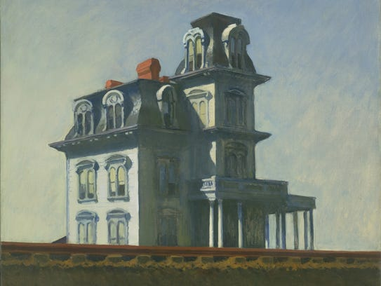 Edward Hopper, House by the Railroad, 1925. Oil on