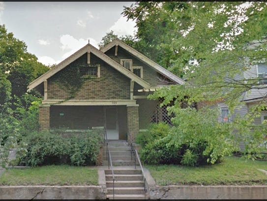 This Craftsman bungalow at 705 North St. in Lafayette