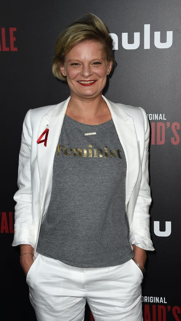 Why Martha Plimpton wore a red 'A' to 'Handmaid's Tale' premiere