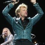 David Bryan and Jon Bon Jovi of Bon Jovi in Asbury Park.