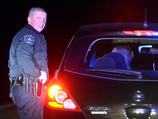 In this file photo, York Area Regional Police Officer