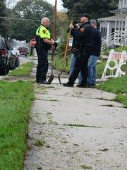 Volunteers with the Sheboygan Police Department work