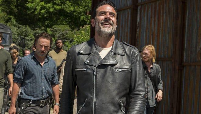 """The Walking Dead"" with Jeffrey Dean Morgan returns Sunday."