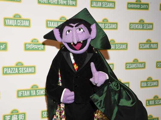 Sesame Street character Count von Count is joining Elmo, Rosita and her mom, Rosa, in public service announcements airing Monday to encourage parents of young children to make sure they and their children are counted in the 2020 census.