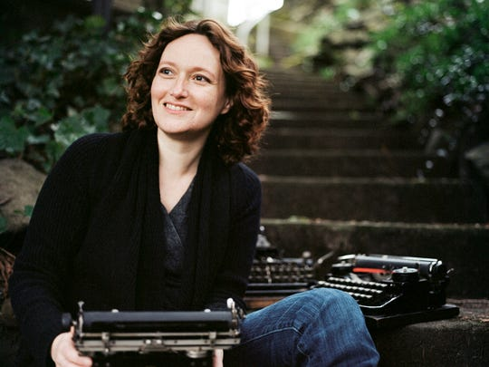 """Mary Robinette Kowal, author of """"Ghost Talkers,"""" will"""