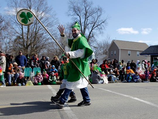 The annual St. Patrick's Day Parade will take over New London on March 21. The parade and that day's Irish Fest conclude a week of festivities.