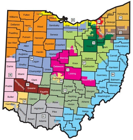 Gerrymandering Ohio hopes to end it with firstofitskind measure