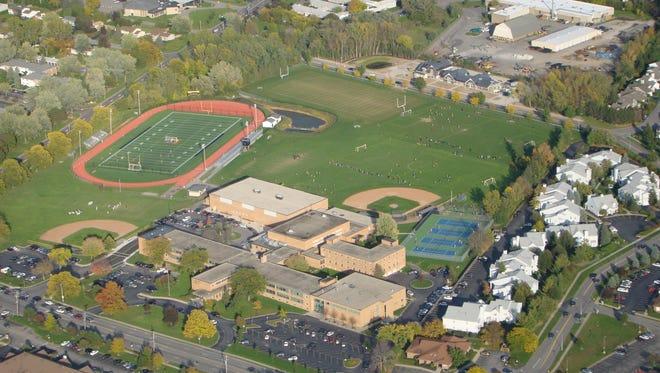 McQuaid Jesuit High School campus.