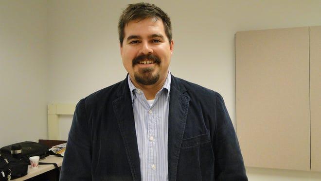 University of Wisconsin Extension Service soil scientist Matt Ruark.