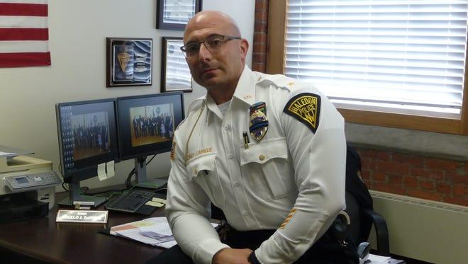 Haledon Police Chief Angelo Daniele.