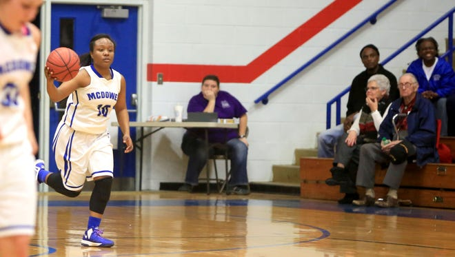 McDowell's Markia Stacey.