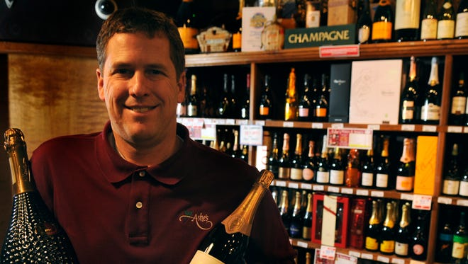 Thad Cox Jr., owner of Ashe's Wines & Spirits, on Old Kingston Pike.