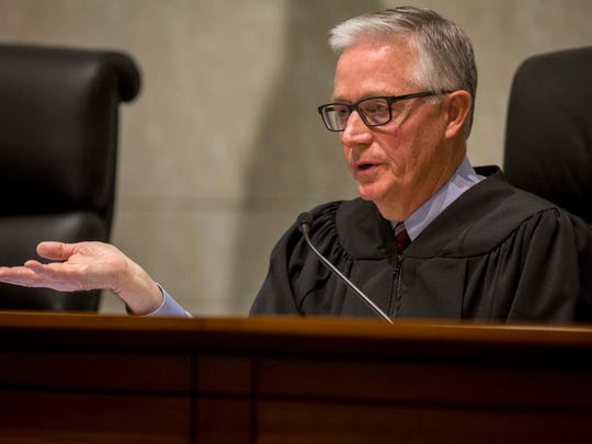 """Chief Justice Mark S. Cady, seen in a February file photo, issued a """"supervisory order"""" to all Iowa judges in which he outlined the importance of maintaining public confidence in the justice system."""