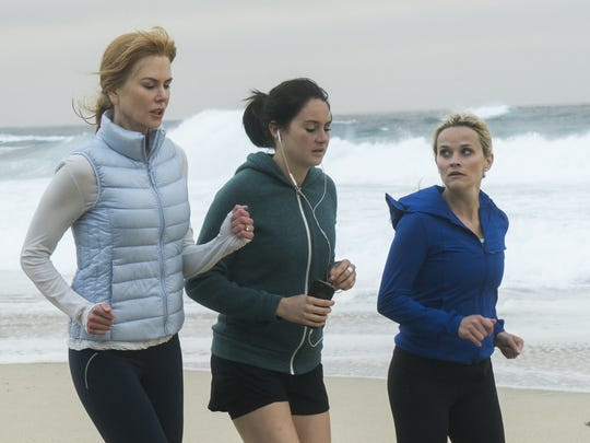 Nicole Kidman as Celeste (from left), Shailene Woodley