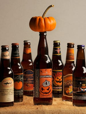 Pumpkin beers have become an autumn tradition.