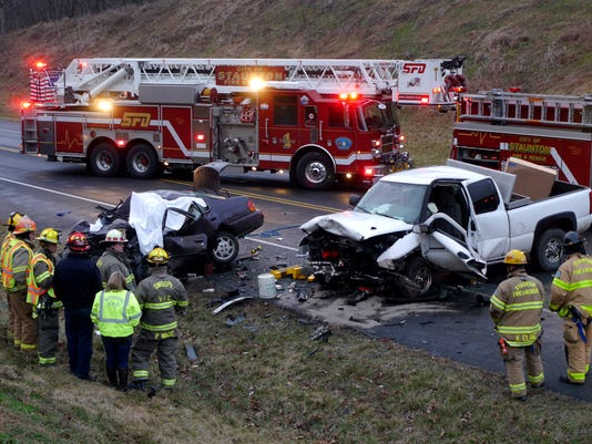 Fatal wreck on Va. 262