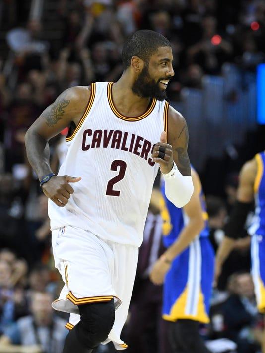 USP NBA: FINALS-GOLDEN STATE WARRIORS AT CLEVELAND S BKN CLE GSW USA OH