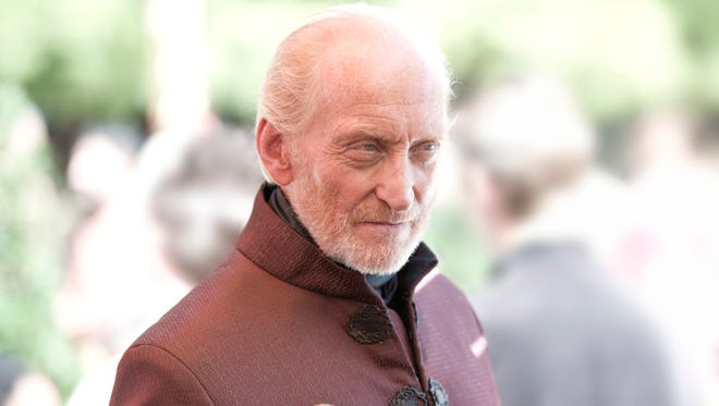 Tywin Lannister (Charles Dance) doesn't just carry a big stick; he doesn't hesistate to use it.