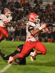 Central's Marlon Tuipulotu recorded 28 tackles for