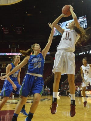 Maria Conde is a newcomer from Spain on the 2015 FSU squad.