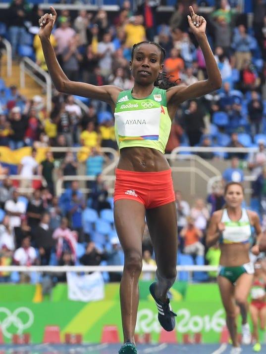 Women's 10,000: Ayana smashes world record; Huddle sets U ...
