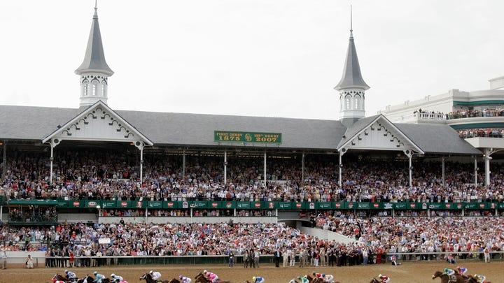 Past Kentucky Derby winners