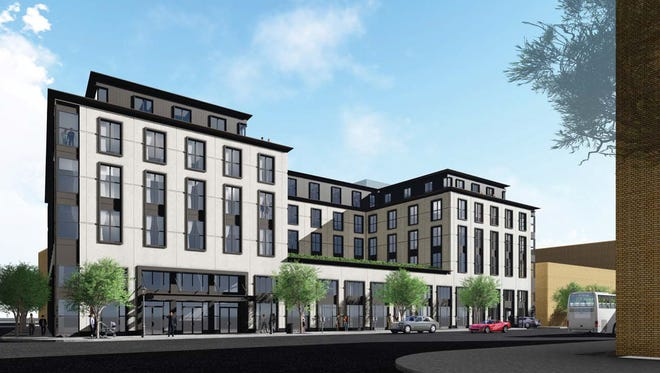Aparium Hotel Group unveiledplans for a five-story Birmingham Boutique Hotel at 298 S. Old Woodward.