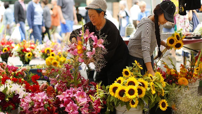 The Saturday Farmers Market and Farmers Market on Broadway are up and humming for the season, with a few changes this year.