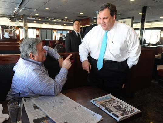 tops diner governor christie