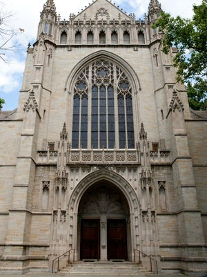 The Princeton University Chapel.
