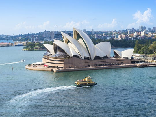 The Sydney Opera House took 17 years to build.