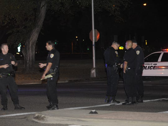 The collision is being investigated by Visalia's Traffic Unit.