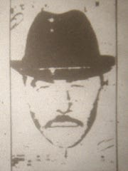 A composite drawing of the suspect in the 1991 shooting