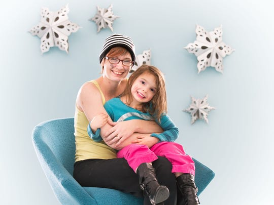 Katherine Franson and her daughter Angelina Franson.