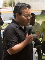 J.T. Perez, a member  of the Las Cruces Mayor's Task