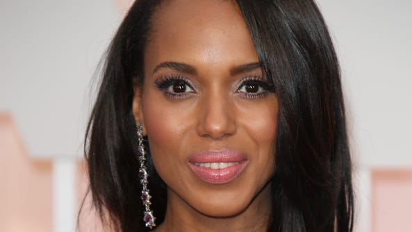 Kerry Washington arrives at the 87th annual Academy