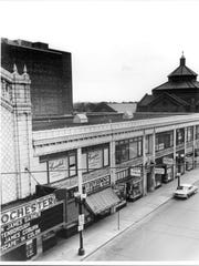 A look at the old Loew's Theater block on Clinton Avenue before it was torn down.