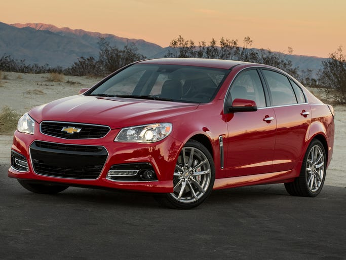 The just-on-sale 2014 Chevrolet SS performance sedan is a modified Holden model and is built in Australia for the U.S. market. It is an updated version of the Holden briefly sold as the Pontiac G8.