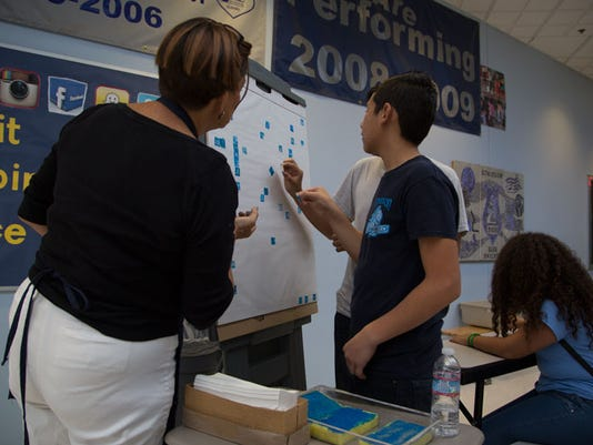 Atkinson Middle School arts STEAM education