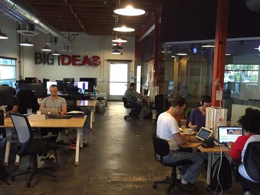 Co+Hoots Phoenix co-working space