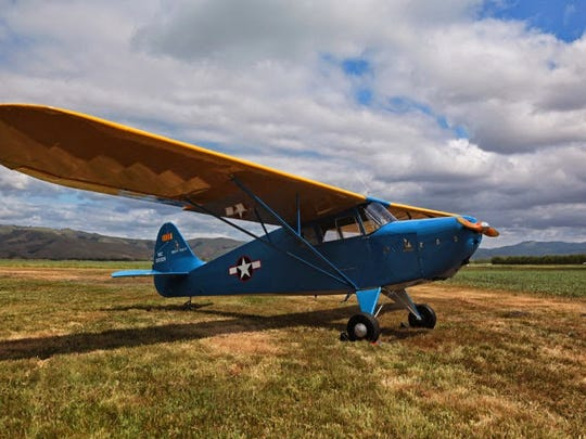The monthlong campaign provides an opportunity to support the restoration of the Delaware Valley Wing's 1941 Interstate Cadet.