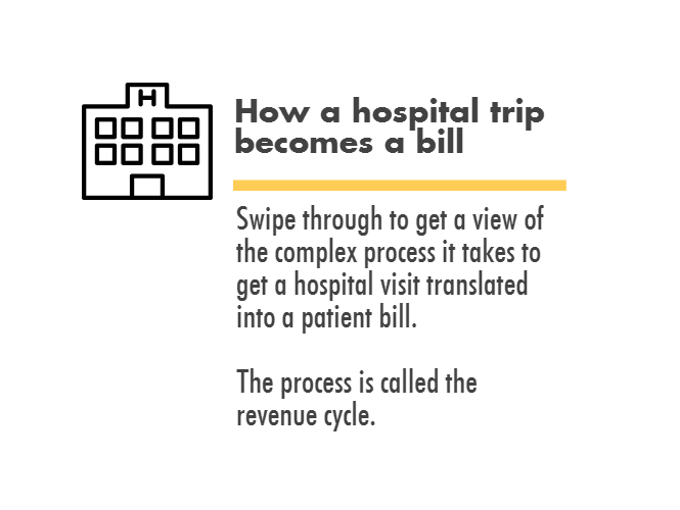 How a hospital trip becomes a bill